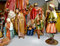 Stock Image : Nativity figurine colection