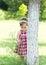 Stock Image : Nature baby girl