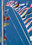 Stock Image : Nautical Flags Flying Against a Blue Sky