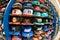 Stock Image :  NBA kapelusze