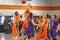 Stock Image : NCAA Boys Basketball