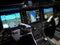 Negócio Jet Cockpit