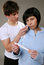 Stock Image : Negative pregnancy test