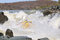 Stock Image : Negotiating Hell's Gate in the Gariep River (Orange River), Sout