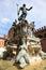 Stock Image : Neptune fountain, Bologna