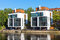 Stock Image : New houses at the waterside