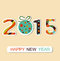 Stock Image : New Year 2015 background