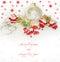 Stock Image : New Year card with Santas