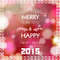 Stock Image : New year and christmas greeting card design