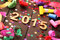 Stock Image : New year 2015