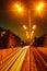 Stock Image : Night road