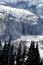 Stock Image : Nisqually Glacier and Waterfalls