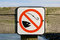 Stock Image : No fishing sign