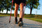 Stock Image : Nordic walking in summer