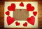 Stock Image : Notice Board with Heart Shape