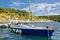 Stock Image : Novigrad Dalmatinski bay sailing harbor