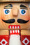 Stock Image : Nutcracker Face