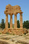 The Temple of Dioscuri Castor and Pollux Agrigento