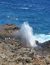Stock Image : Ocean Blowhole in Maui