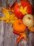 Stock Image : October pumpkins