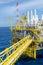 Stock Image : Offshore platform