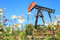 Stock Image : Oil Pump Jack (Sucker Rod Beam)