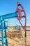 Stock Image : Oilfield