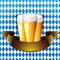 Stock Image : Oktoberfest Celebration Background