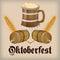 Stock Image : Oktoberfest