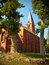 Stock Image : Old church in Kowalewice village, Poland