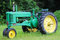Stock Image : Old John Deere Model B Farm Tractor