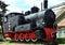 Stock Image : Old locomotive