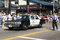Stock Image : Old police car at 73th Annual Nisei Week Grand Parade