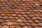 Stock Image : Old roof tiles.