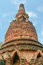 Stock Image : Old and ruin pagoda in Kamphaeng Phet Historical Park,Thailand