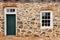 Stock Image : Old Salem Door and Window