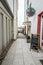 Stock Image : Old street in Warnemunde