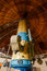 Stock Image : Old trophy large optical telescope
