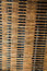 Stock Image : Old Wood and Wire Lath Wall