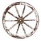 Stock Image : Old cart wheel