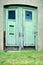 Stock Image : Old wooden door