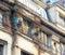 Stock Image : Older facade in Belgrade