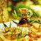 Stock Image : Olive oil still life