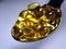 Stock Image : Omega fish oil pills