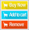 Stock Image : Online shopping e commerce icon set