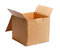 Stock Image : Open carton box