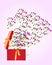 Stock Image : Open Gift Box