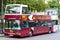 Stock Image : Open Top Bus Tour (Paris)