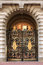 Stock Image : Openwork gates of the Buckingham Palace in London