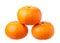 Stock Image : Orange fruit isolated on white background